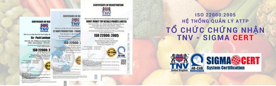 khóa đào tạo ISO 22000