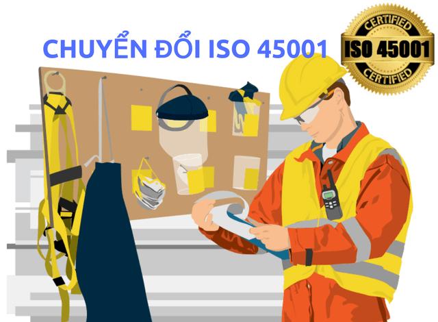 CHUYỂN ĐỔI ISO 45001 – NHỮNG THAY ĐỔI CHÍNH CỦA ISO 45001 SO VỚI OHSAS 18001