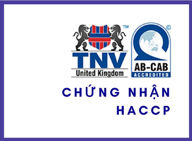 TỔ CHỨC CHỨNG NHẬN HACCP – TNV SIGMA CERT VƯƠNG QUỐC ANH