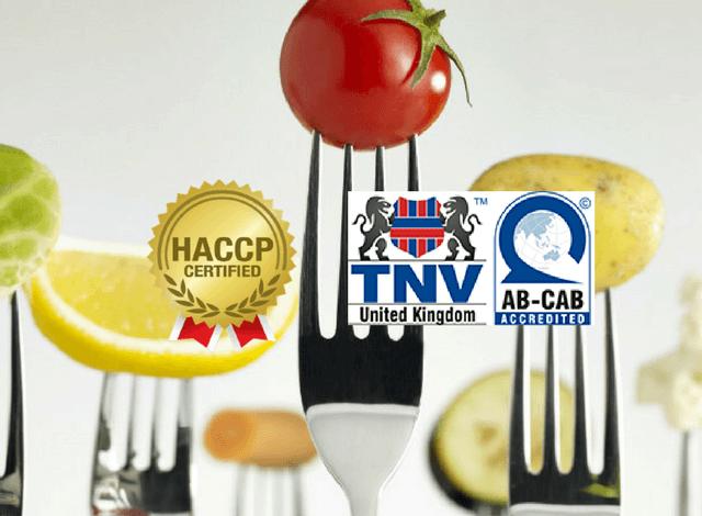 Các bước thực hành để được cấp chứng chỉ HACCP là gì?