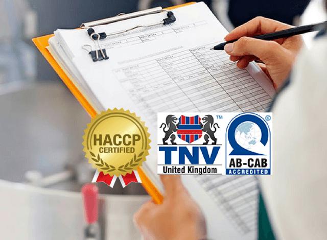 Các loại hình đánh giá đối với hệ thống quản lý HACCP