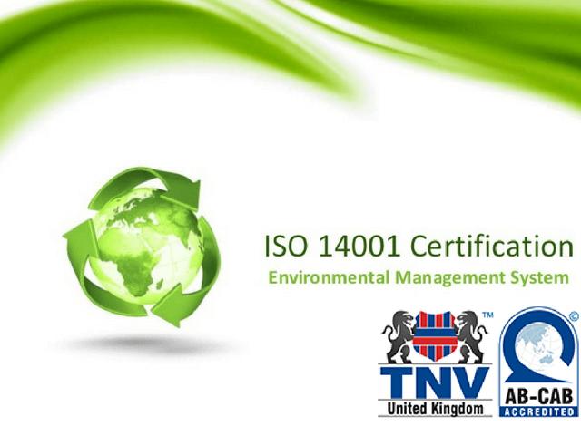 TỔ CHỨC CHỨNG NHẬN ISO 14001 – TNV SIGMA CERT VƯƠNG QUỐC ANH