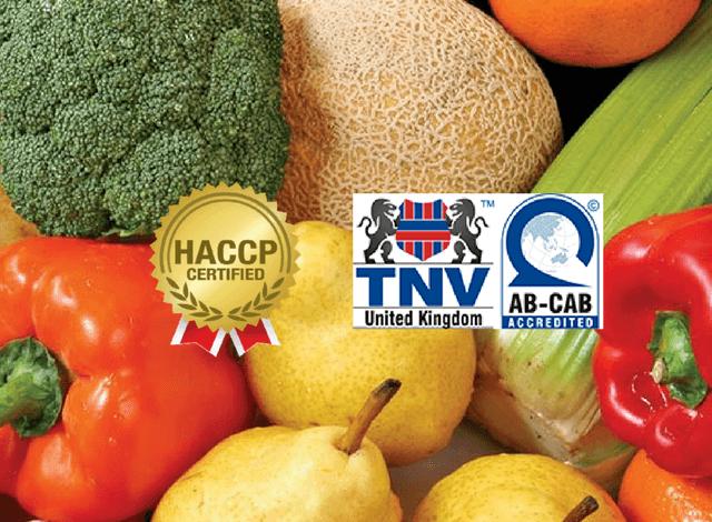 Các bước cuối cùng để công ty bạn được cấp giấy chứng nhận HACCP