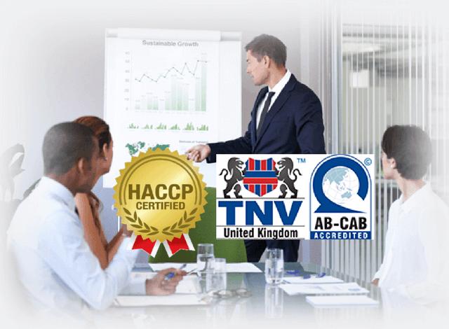 Học chứng chỉ HACCP dành cho cá nhân