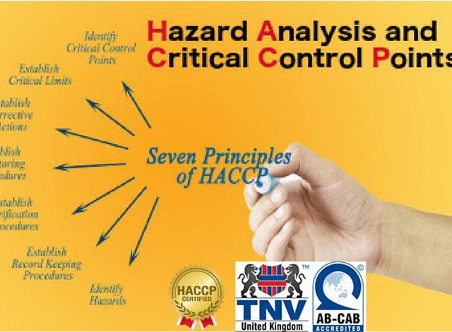 Mẫu Kế hoạch HACCP
