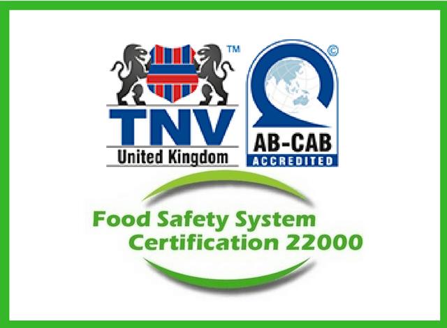 Các yêu cầu chứng nhận FSSC 22000