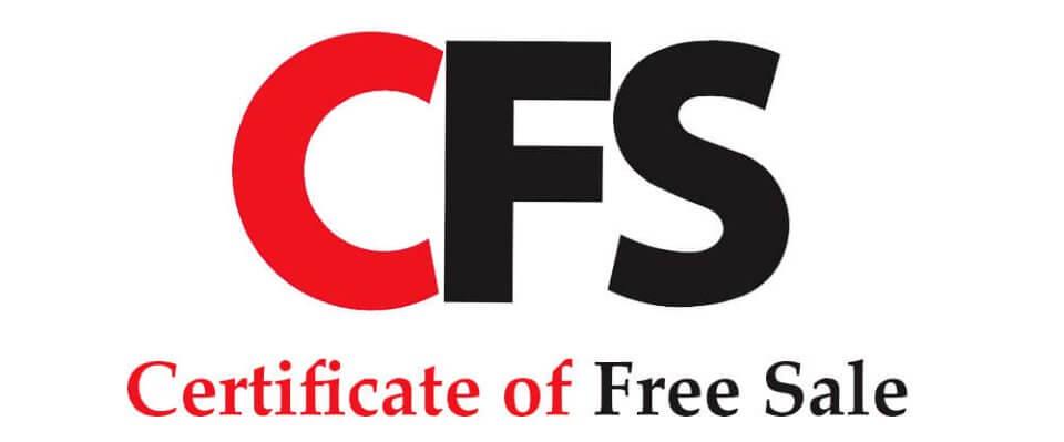 CFS – GIẤY CHỨNG NHẬN LƯU HÀNH TỰ DO (CERTIFICATE OF FREE SALE)