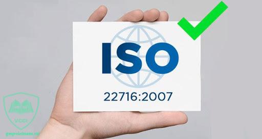 Tiêu chuẩn ISO 22716:2007 là gì?