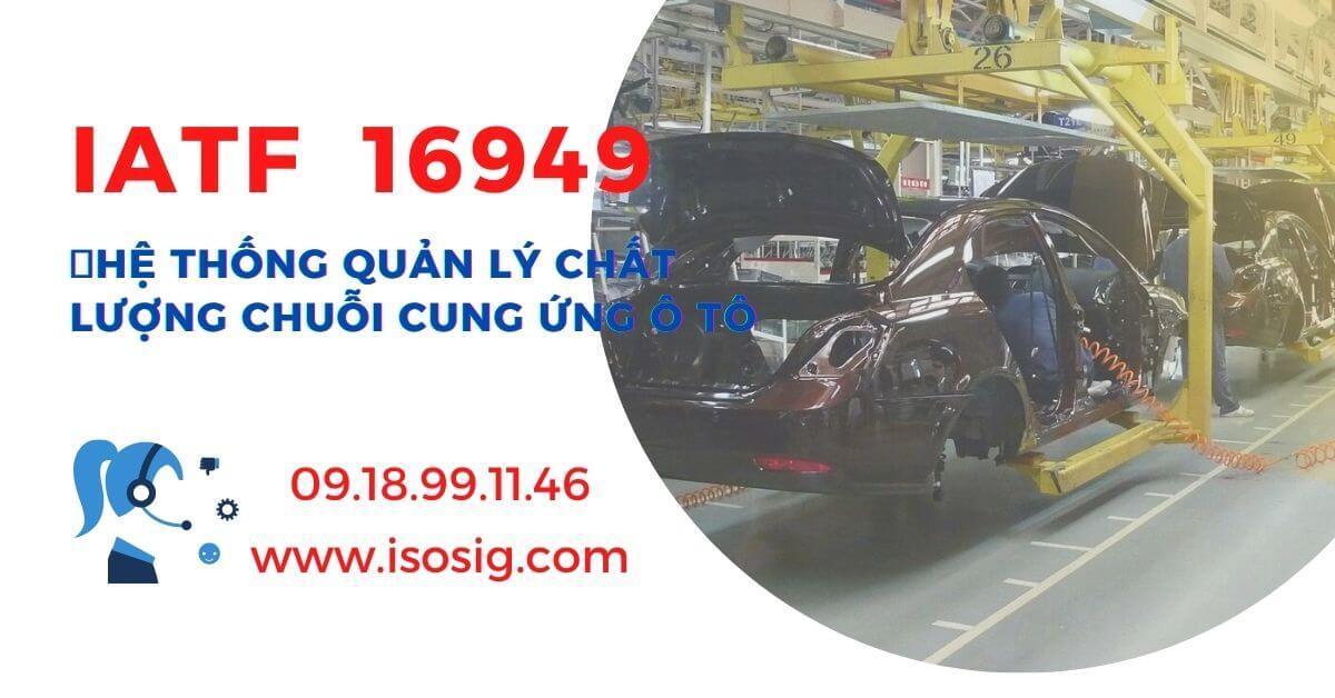 Chứng nhận IATF 16949