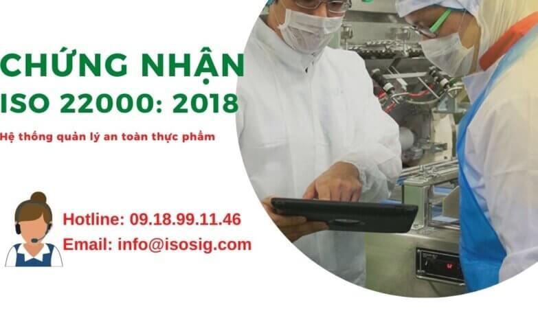 Chứng nhận ISO 22000 2018