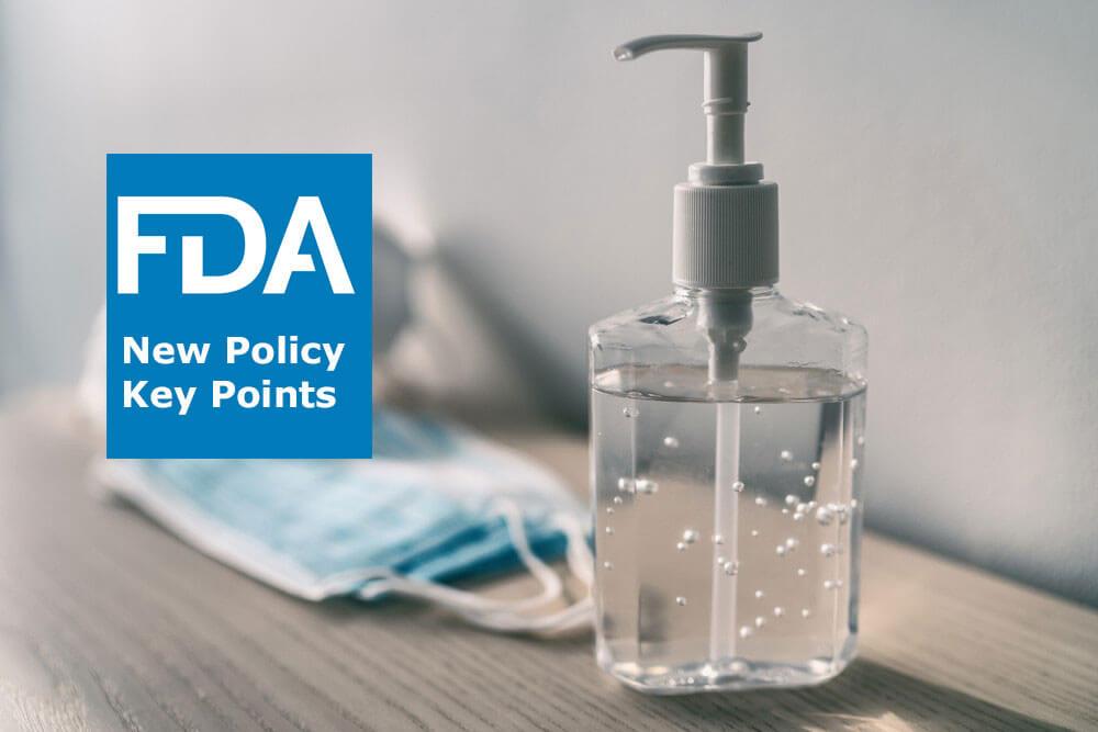 Yêu cầu của FDA đối với Dung dịch rửa tay có cồn và Thuốc không kê đơn sát trùng khác