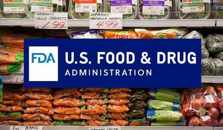 chứng nhận FDA cho thực phẩm