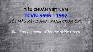Chứng nhận hợp chuẩn bột màu xây dựng-xanh Crom oxit