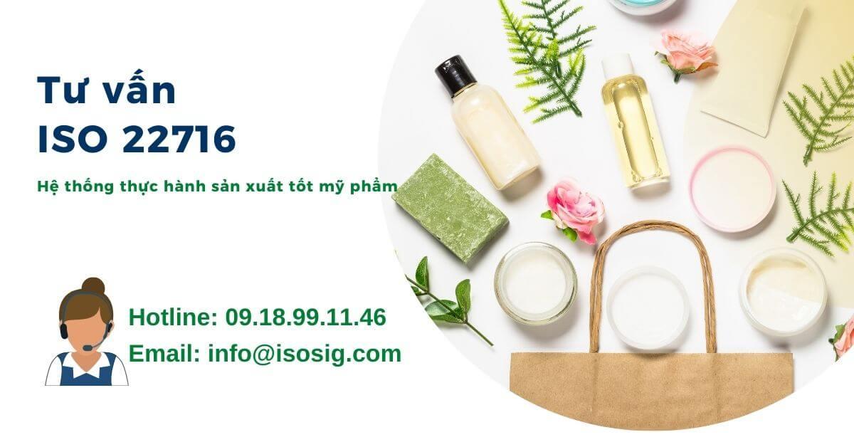 chứng nhận ISO 22716
