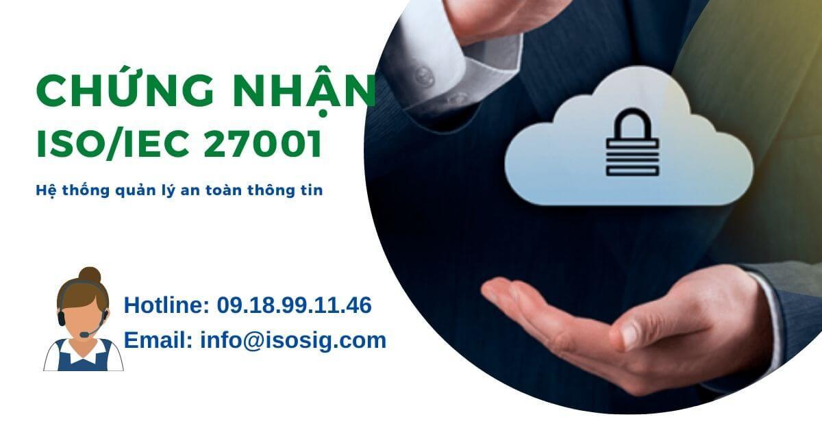Chứng nhận ISO 27001