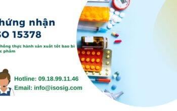 Chứng nhận ISO 15378