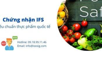 Chứng nhận IFS