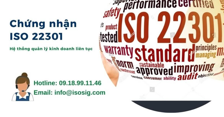 TẠI SAO DOANH NGHIỆP CẦN CHỨNG NHẬN ISO 22301? QUY TRÌNH CẤP GIẤY CHỨNG NHẬN ISO 22301 TẠI SIS CERT