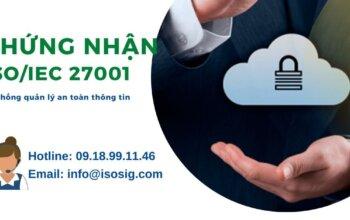 Giấy chứng nhận ISO 27001