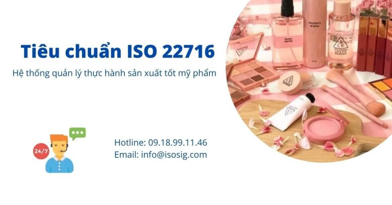 HỆ THỐNG THỰC HÀNH SẢN XUẤT TỐT MỸ PHẨM THEO GMP ISO 22716