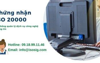 ISO 20000 LÀ GÌ