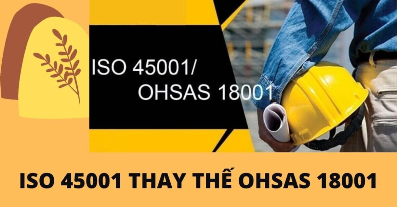 SỰ KHÁC NHAU GIỮA ISO 45001 VÀ OHSAS 18001, ISO 45001 CÓ THAY THẾ OHSAS 18001 KHÔNG?