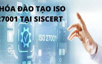 KHÓA ĐÀO TẠO ISO 27001