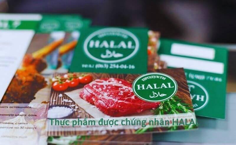Thực phẩm được sản xuất theo tiêu chuẩn HALAL