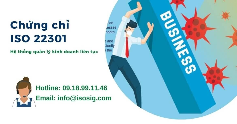 Giới thiệu tiêu chuẩn ISO 22301 Hệ thống quản lý tính liên tục trong kinh doanh