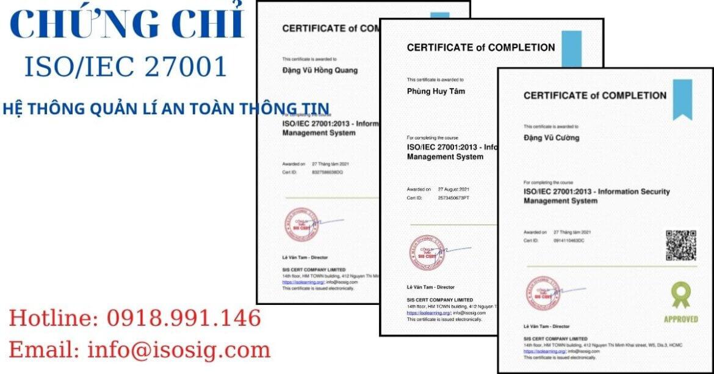 SIS CERT THỰC HIỆN ĐÀO TẠO ISO/IEC 27001:2013 CHO CÔNG TY CỔ PHẦN CÔNG NGHỆ THẺ NACENCOM