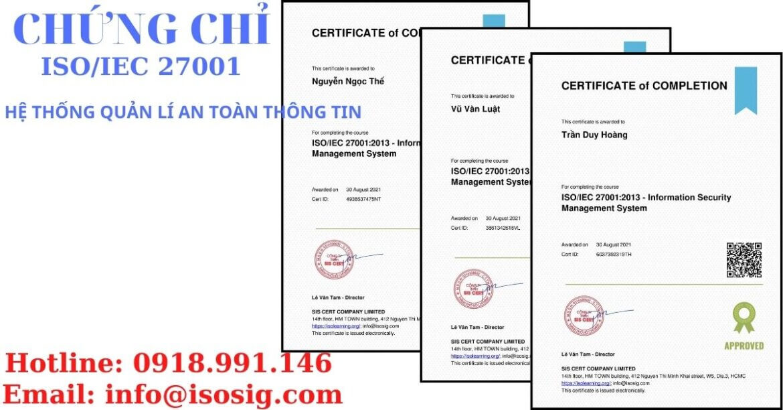 SIS CERT THỰC HIỆN ĐÀO TẠO ISO/IEC 27001:2013 CHO CÔNG TY CỔ PHẦN ĐẦU TƯ CÔNG NGHỆ VÀ THƯƠNG MẠI SOFTDREAMS