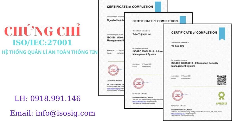 SIS CERT THỰC HIỆN ĐÀO TẠO ISO/IEC 27001:2013 CHO CÔNG TY TNHH JCONNECT