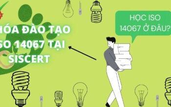 KHÓA ĐẠO TẠO ISO 14067