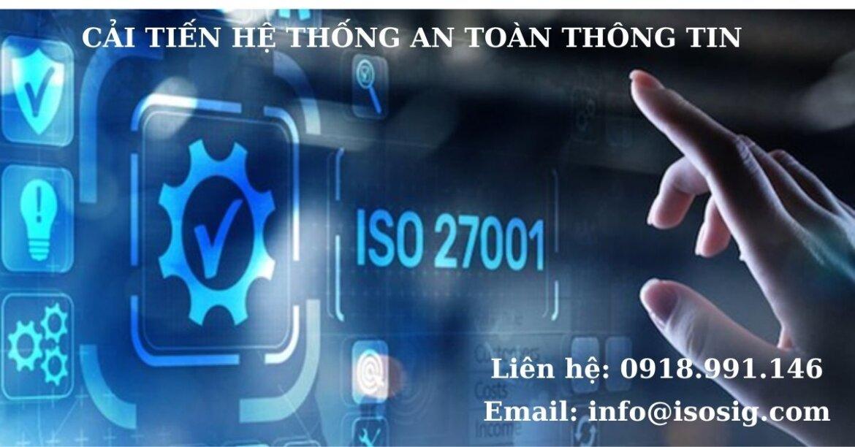 HƯỚNG DẪN THỰC HIỆN CẢI TIẾN HỆ THỐNG QUẢN LÝ AN TOÀN THÔNG TIN THEO ISO 27001