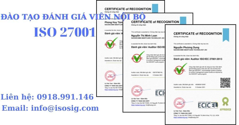 SIS CERT THỰC HIỆN ĐÀO TẠO ĐÁNH GIÁ VIÊN NỘI BỘ THEO TIÊU CHUẨN ISO/IEC 27001:2013 CHO CÔNG TY CỔ PHẦN CÔNG NGHỆ THẺ NACENCOMM