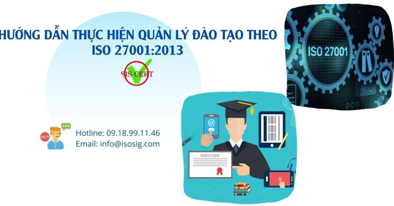 HƯỚNG DẪN THỰC HIỆN QUẢN LÝ ĐÀO TẠO THEO ISO 27001:2013
