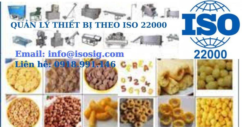 SIS CERT HƯỚNG DẪN THỰC HIỆN QUẢN LÝ THIẾT BỊ THEO ISO 22000